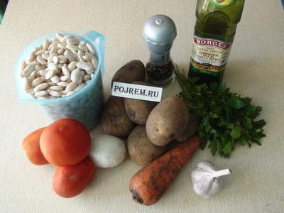 как приготовить фасолевый суп пошаговый рецепт