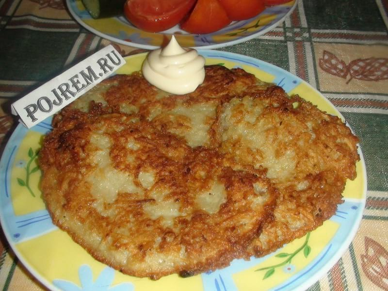 рецепт драников из картошки с луком фото пошагово