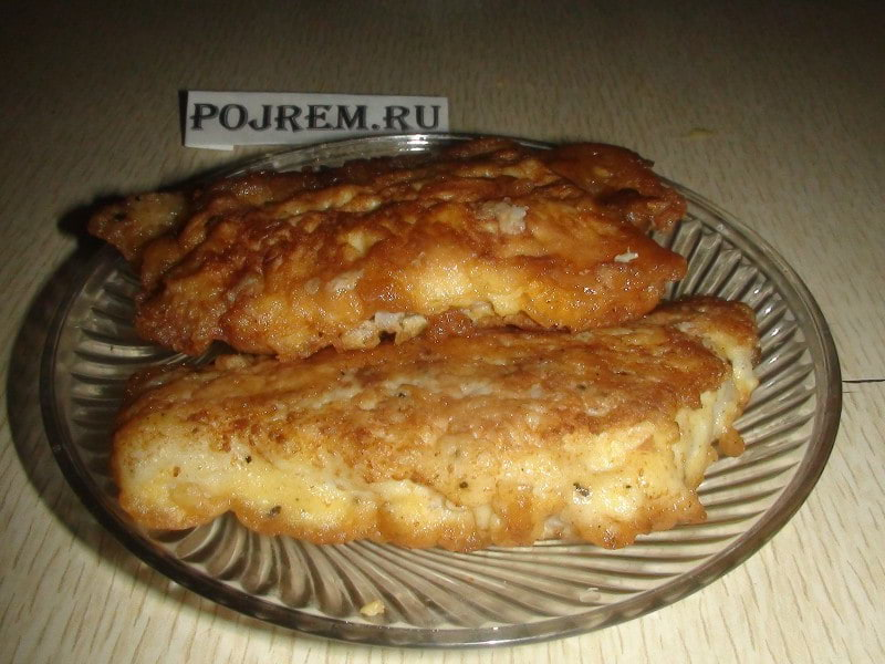 рыба в духовке в кляре рецепт с фото