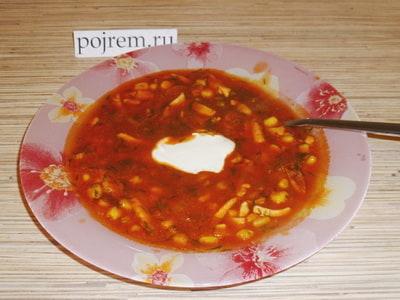 рецепт томатного супа с фрикадельками в мультиварке