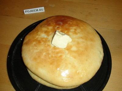 Рецепт теста осетинских пирогов с