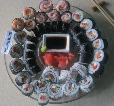Как сделать рис для суши фото 157