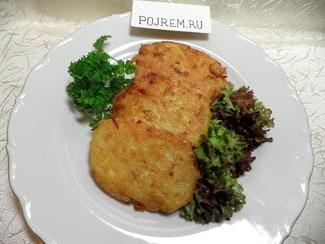 Драники из картошки