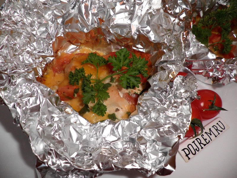 филе курицы в духовке с картошкой рецепт с фото