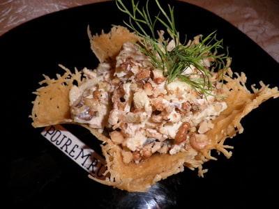 рецепт салата с грецким орехом грибами