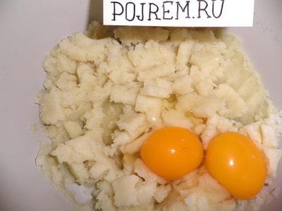 рецепт картофельного рулета с фаршем фото