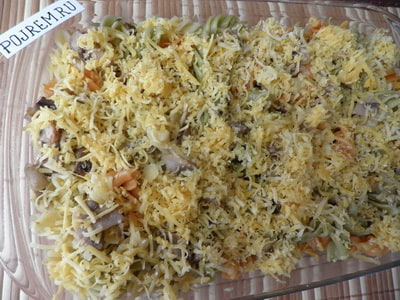 пикантные макароны в духовке рецепт с фото