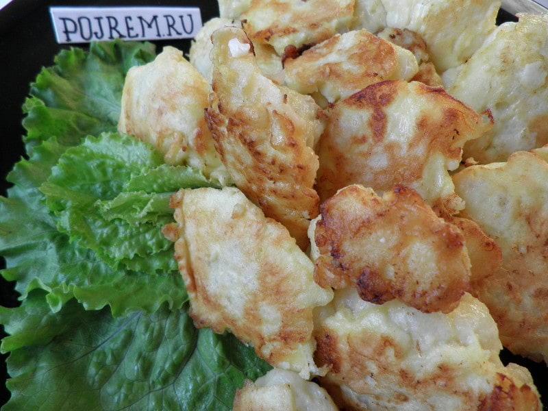 рецепт цветной капусты в кляре пошагово с фото