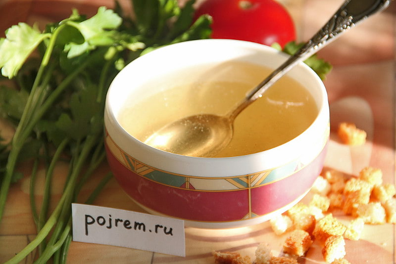 рецепт мясной суп из говядины рецепт