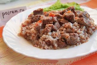 Гречка с мясом