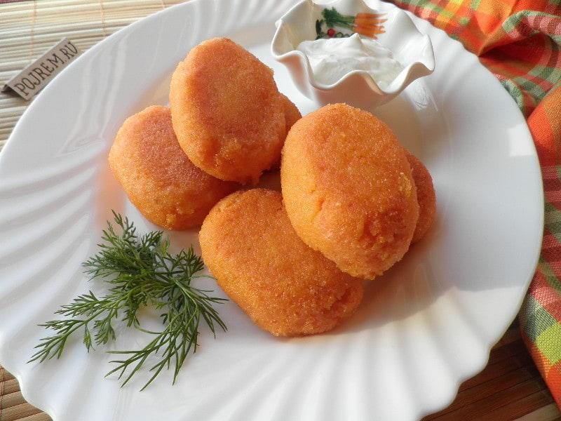 Морковные котлеты рецепт классический рецепт пошаговый