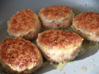 рецепт мясных котлет с яйцом