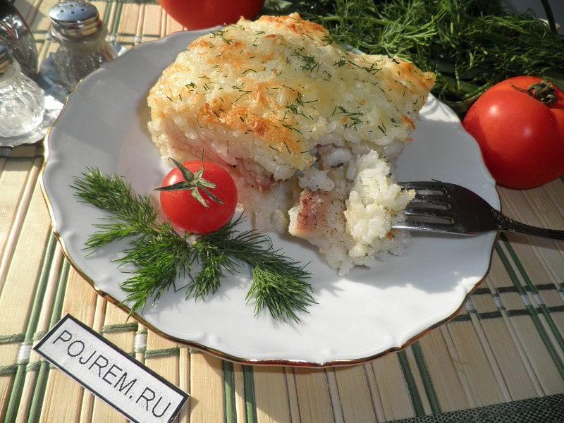 рыбные консервы запеканки рецепты фото