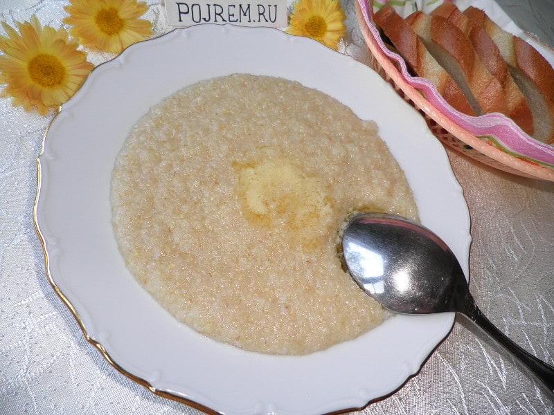 простой рецепт пшеничной каши