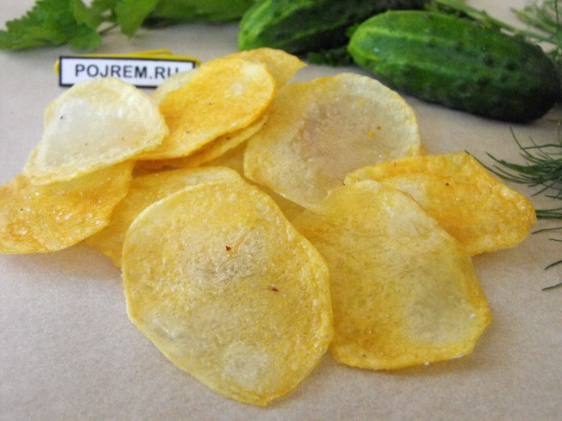 Как сделать чипсы из картофеля