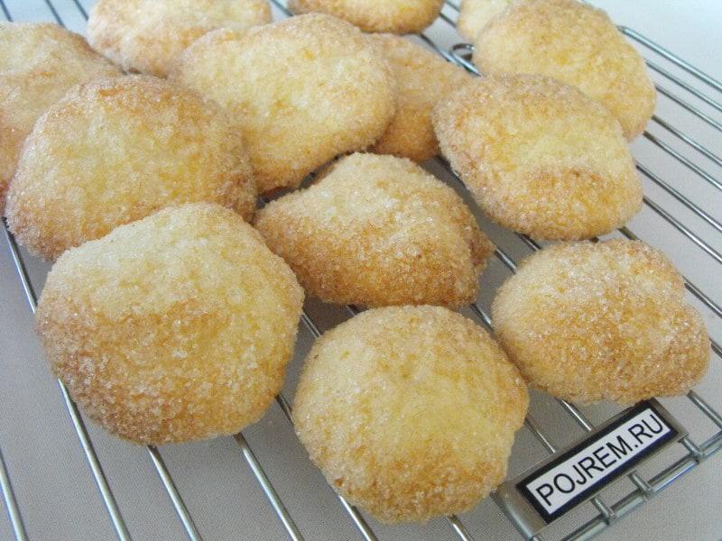 Масляное печенье из дрожжевого теста