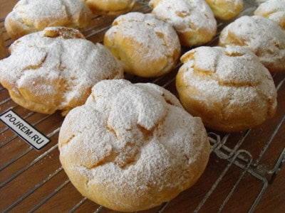 Как сделать заварное печенье в домашних условиях