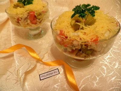салат с китайской капустой пошаговый рецепт