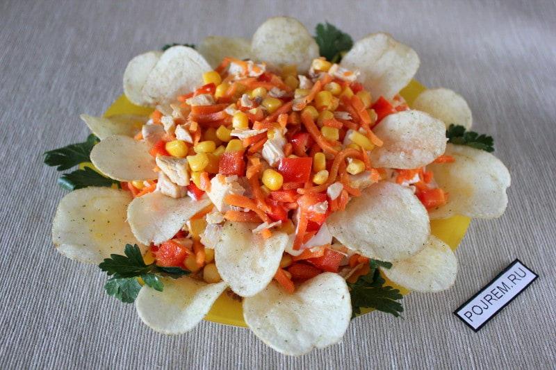 салат Рыжик