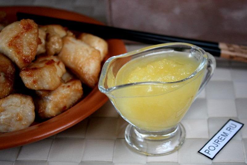 кисло сладкий китайский соус рецепт