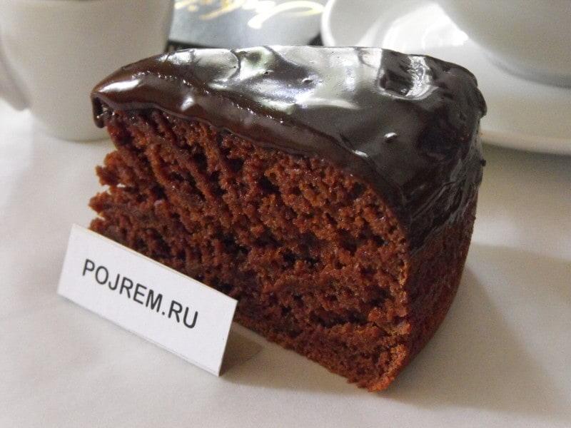 простой шоколадный пирог с какао рецепт с фото