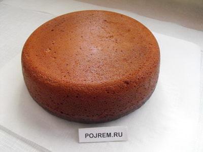 Шоколадный бисквит рецепт с фото пошагово в духовке