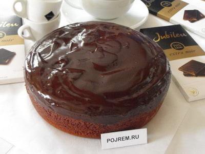 Шоколадный пирог рецепт с фото