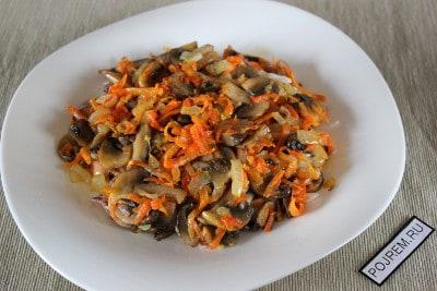Салат ассорти из морепродуктов рецепт