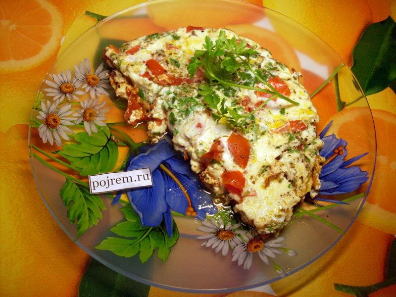 омлет с помидорами по-итальянски
