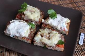 Горячий бутерброд в духовке
