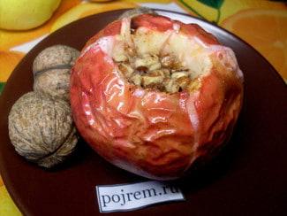 Печеные яблоки в духовке с медом