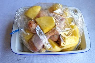 цыпленок в духовке рецепт с фото пошаговый рецепт
