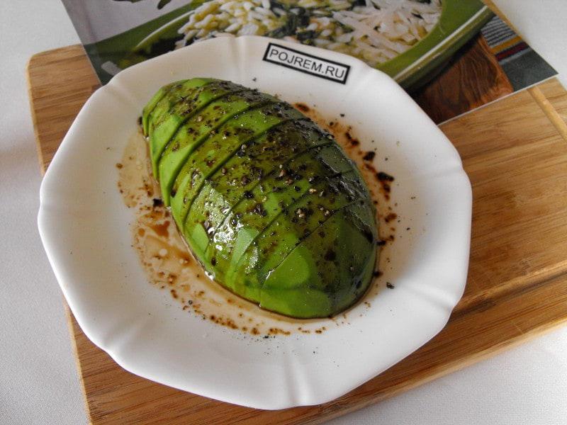 рецепт салата из авокадо и семги рецепт