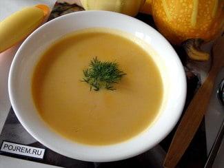 Тыквенно-молочный суп-пюре