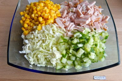 Рецепты салатов с карбоната