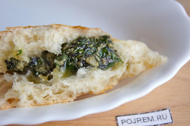песто - соус с базиликом