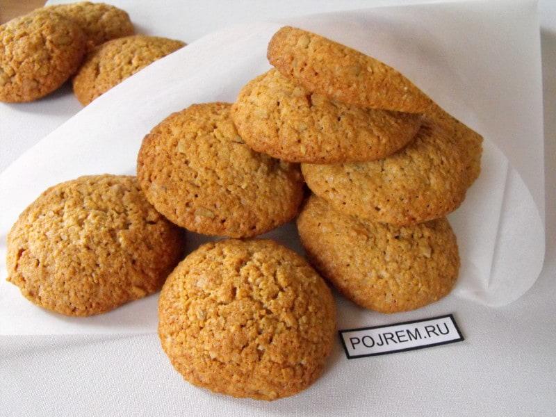Овсяные печенья пошаговый рецепт
