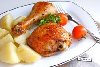 Курица, маринованная в соевом соусе