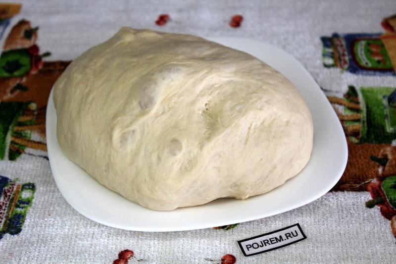 дрожжевое постное тесто