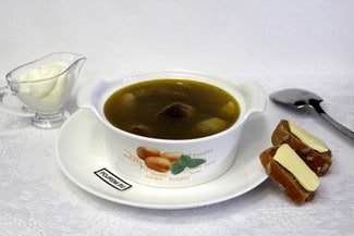 Вкусный грибной суп из замороженных грибов