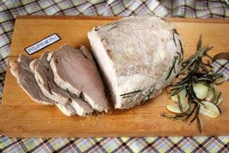 Свинина, запеченная в духовке в фольге