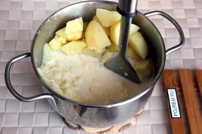 как приготовить блины с картошкой рецепт с фото