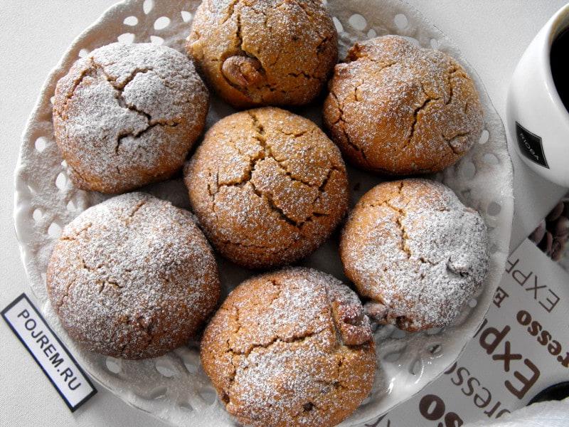 печенье из овсяных хлопьев постное рецепт с фото