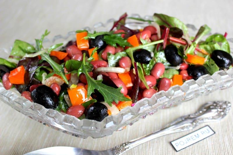 Салат с перцем болгарским и курицей рецепт пошаговый с