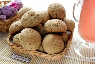 Постное печенье на маринаде