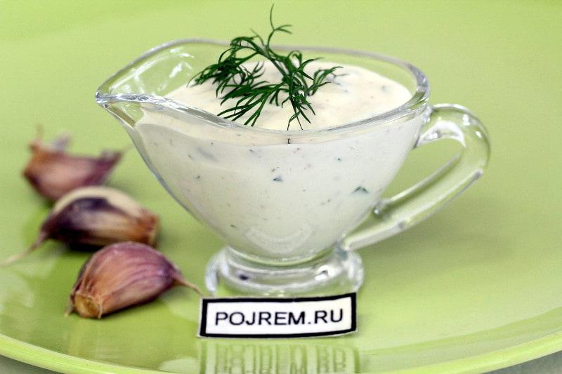чесночный соус для домашней шаурмы