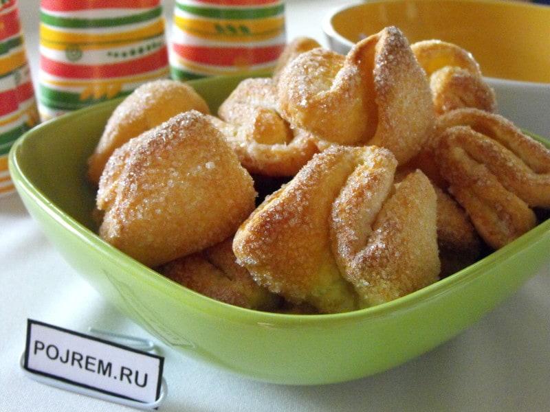 онлайн печенье творожное рецепт