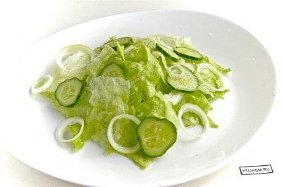 Салат из кальмаров кольца рецепт очень вкусный