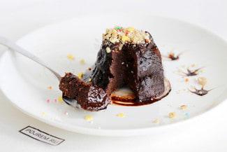 Простой кекс с какао в кружке в микроволновке за 5 минут