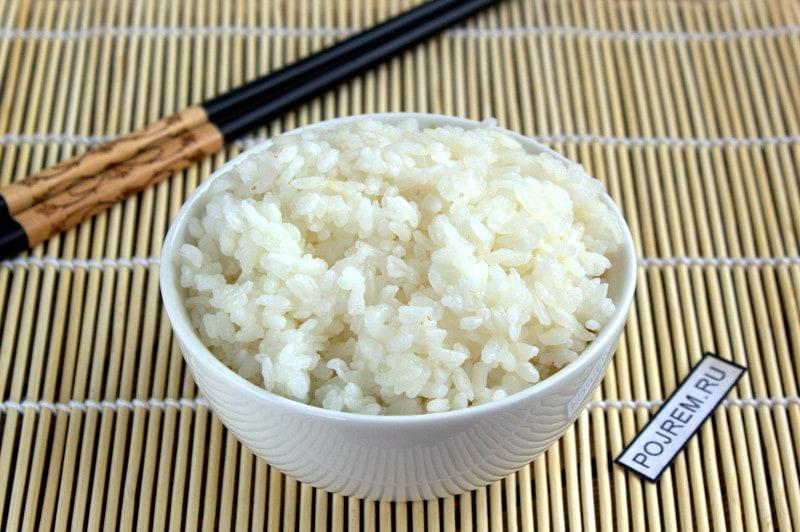 как готовить рис для суши дома рецепт с фото